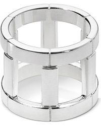 Georg Jensen | Metallic Aria Sterling Silver Wheel Ring | Lyst