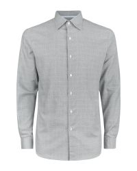 Aquascutum | Gray Tobias Check Shirt for Men | Lyst