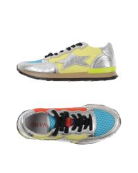 Ishikawa - Yellow Low-tops & Trainers - Lyst