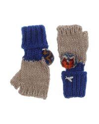 Patrizia Pepe | Blue Gloves | Lyst