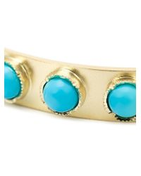 Irene Neuwirth | Metallic Turquoise Studded Bangle | Lyst