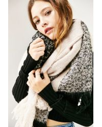 Urban Outfitters - Black Femme Plaid Scarf - Lyst