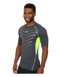 Under Armour - Gray Ua Heatgear® Armour Exo S/s Compression Shirt for Men - Lyst