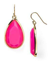 kate spade new york | Pink Day Tripper Earrings | Lyst
