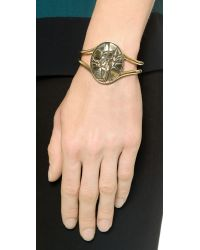 Pamela Love - Metallic Ceres Cuff Bracelet - Brass - Lyst