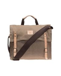 Will Leather Goods | Natural Waxed Canvas Messenger Bag for Men | Lyst