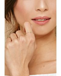 Forever 21 Metallic Cool And Interesting Heart Ring