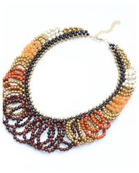 Nakamol | Multicolor Tempest Necklace-tiger Eye Mix | Lyst