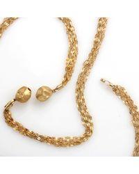 Yvel - Metallic Freshwater Pearl Pendant Necklace - Lyst
