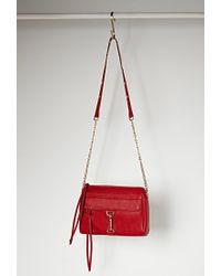 Forever 21 | Red Faux Leather Crossbody You've Been Added To The Waitlist | Lyst