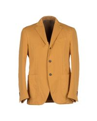 Lardini - Orange Blazer for Men - Lyst