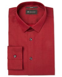 INC International Concepts | Red Men's Joshua Non-iron Shirt, Only At Macy's for Men | Lyst