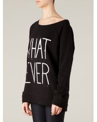 BLK OPM - Black Whatever Sweatshirt - Lyst
