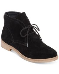 Lucky Brand   Black Women's Garboh Lace-up Desert Booties   Lyst