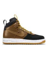 the best attitude 65543 ca51a Nike Lunar Force 1 Duckboot in Brown for Men - Lyst
