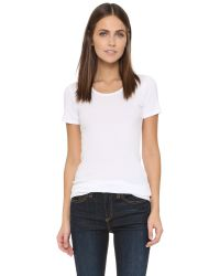 Splendid | White Infant's Solid Short-sleeve Tee | Lyst