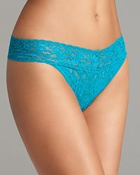 Hanky Panky | Blue Thong - Original Rise #4811 | Lyst