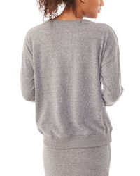 Alternative Apparel | Gray Excusion Eco-brushed Jersey Crew Sweatshirt | Lyst