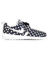 Nike - Black Roshe Polka Dot-Print Sneakers for Men - Lyst