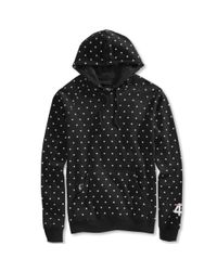 LRG - Black Big and Tall Polk High Pullover Hoodie for Men - Lyst