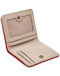 Fossil - Red Gifting Bifold Wallet - Lyst