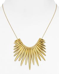 Michael Kors | Metallic Tribal Statement Necklace, 16"