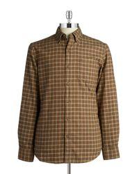 Black & Brown - Brown Checkered Sportshirt for Men - Lyst