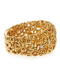 Roberto Coin - Metallic 18 Karat Gold Mauresque Diamond Ring Size 6 12 for Men - Lyst
