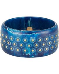 Mark Davis | Blue Arabella Bangle | Lyst