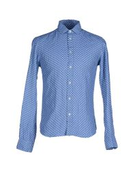Brian Dales | Blue Shirt for Men | Lyst