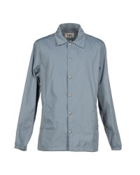 YMC - Gray Jacket for Men - Lyst