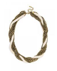 BaubleBar - Metallic Cape Rope Collar - Lyst