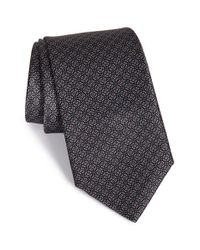 Robert Talbott - Black Best Of Class Geometric Silk Tie for Men - Lyst