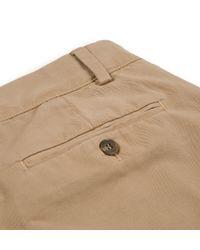 Sunspel | Natural Men's Cotton Twill Chino Trouser for Men | Lyst