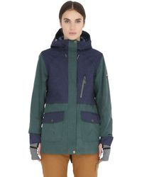 Roxy - Green Torah Bright Tribe Snowboard Jacket - Lyst