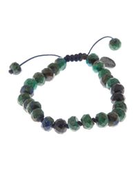 Joseph Brooks - Green Azurite And Chrysocolla Bracelet for Men - Lyst