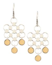 John Hardy | Metallic Gold-drop Dot Earrings | Lyst