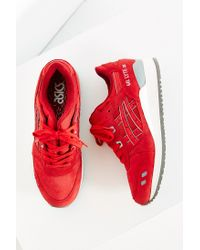 Asics | Red Gel-lyte Iii Puddle Pack Sneaker | Lyst