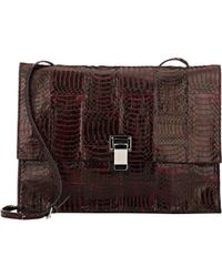 Proenza Schouler - Red Small Lunch Bag - Lyst
