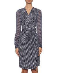 Diane von Furstenberg - Blue Sigourney Two Dress - Lyst
