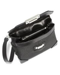 Alexander Wang - Black Prisma Marion Neoprene Leather Crossbody Bag - Lyst