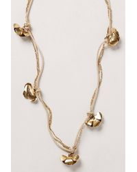 Anthropologie | Metallic Petelotii Necklace | Lyst