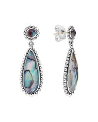 Lagos | Blue Caviar Double-drop Earrings | Lyst