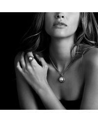 David Yurman - White Midnight Mélange Pendant With Diamonds - Lyst