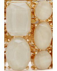 Forever 21 - Metallic Luxe Faux Gemstone Bracelet - Lyst