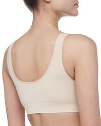 Wacoal | Black B-smooth Bralette With Removable Pads | Lyst