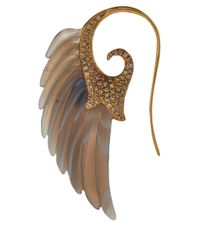 Noor Fares | Brown Wing Earring | Lyst