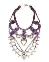 Doloris Petunia | Oslo Necklace, Ombre Purple | Lyst