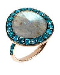 Annoushka | Blue Dusty Diamonds Labradorite Ring | Lyst