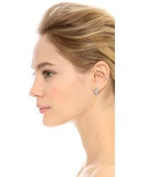 Marc By Marc Jacobs | Metallic This Way Stud Earring Trio - Silver | Lyst